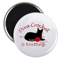 Unique Knitting club Magnet