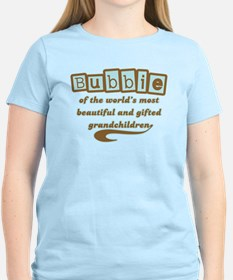 Bubbie of Gifted Grandchildren T-Shirt