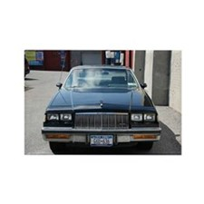 Black Buick Regal Rectangle Magnet (10 pack)