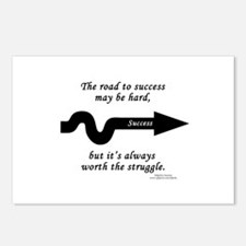 Success Postcards (Package of 8)
