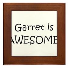 Cool Garret Framed Tile