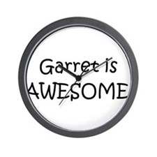 Funny I love garret Wall Clock