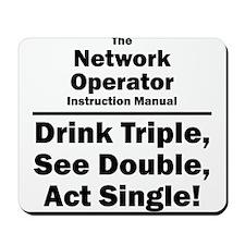 Network Operator Mousepad