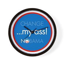 change my ass Wall Clock