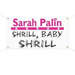 Shrill Baby Shrill- Banner