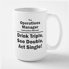 Operations Manager Large Mug