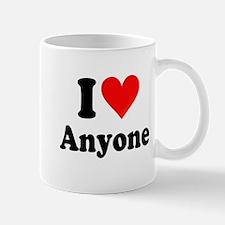 I Love Anyone: Mug