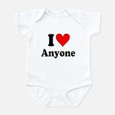 I Love Anyone: Infant Bodysuit