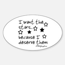 I want the STARS Oval Decal