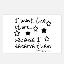 I want the STARS Postcards (Package of 8)