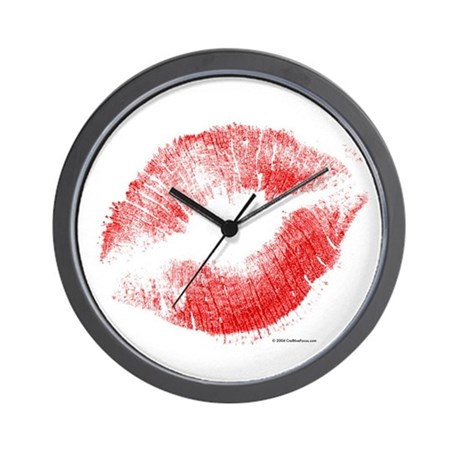Smoochies - Lips - Wall Clock