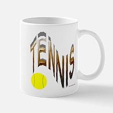 wavy tennis Mug