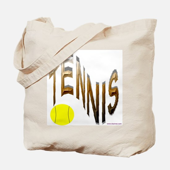 wavy tennis Tote Bag