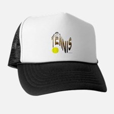 wavy tennis Trucker Hat