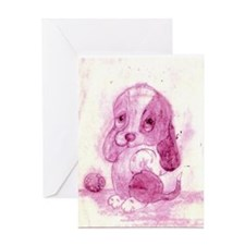 doggie Greeting Card