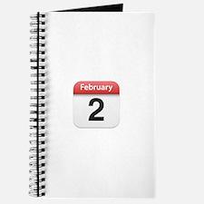 Apple iPhone Calendar February 2 Journal
