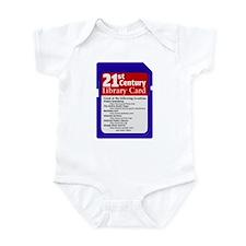 Library Card Infant Bodysuit