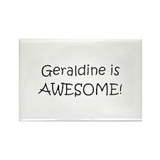 Cool Name geraldine Rectangle Magnet