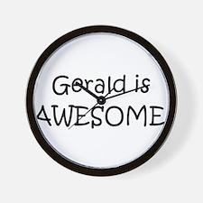 Cool Gerald Wall Clock