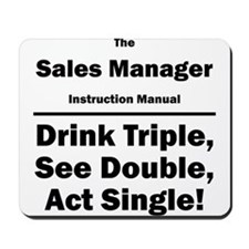 Sales Manager Mousepad