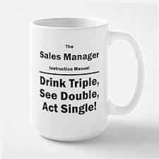 Sales Manager Large Mug