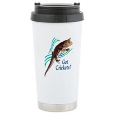 Bearded Dragon Got Crickets I Travel Mug