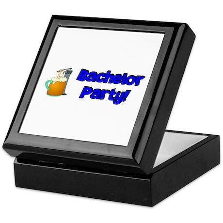 Bachelor Party Keepsake Box