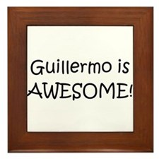 Cool Guillermo Framed Tile