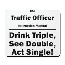 Traffic Officer Mousepad