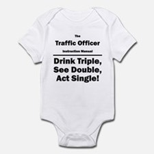 Traffic Officer Infant Bodysuit