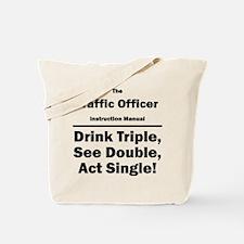 Traffic Officer Tote Bag
