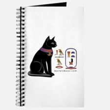 Cat Bastet & Egyptian Hieroglyphics Journal