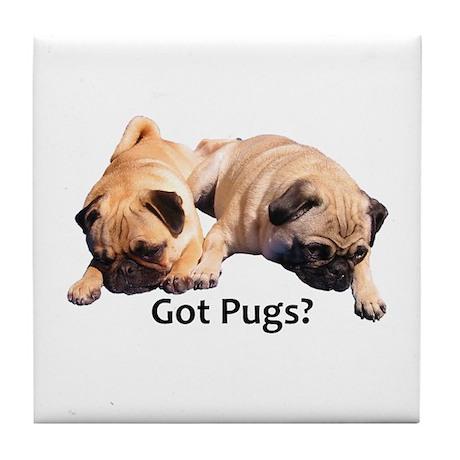 Got Pugs? Tile Coaster