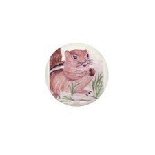 Unique Chipmunk Mini Button (10 pack)
