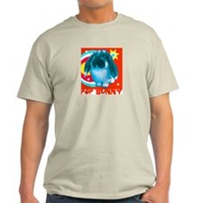 Pop Bunny Ash Grey T-Shirt