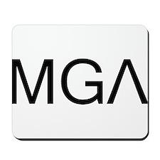 """""""MGA"""" Mousepad"""