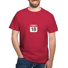 Apple iPhone Calendar April 18 T-Shirt