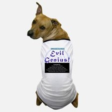 Funny Linix Evil Genius Dog T-Shirt