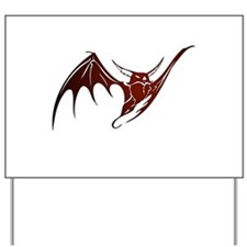 Vampire Bat 3 Yard Sign