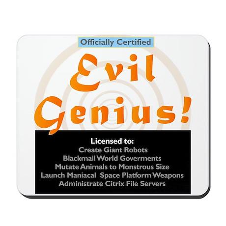 Citrix Certifiied Evil Genius Mousepad