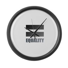 Funny Coexist Large Wall Clock