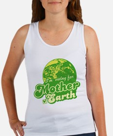 I'm Voting for Mother Earth Women's Tank Top