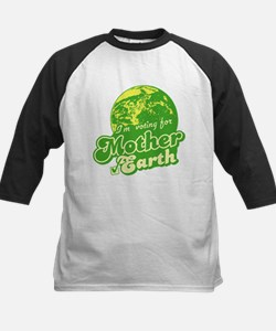 I'm Voting for Mother Earth Kids Baseball Jersey