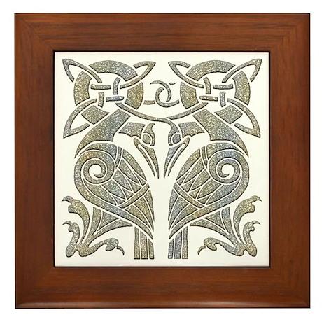 Celtic Contemporaries Framed Tile