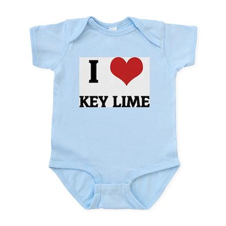 I Love Key Lime Infant Creeper