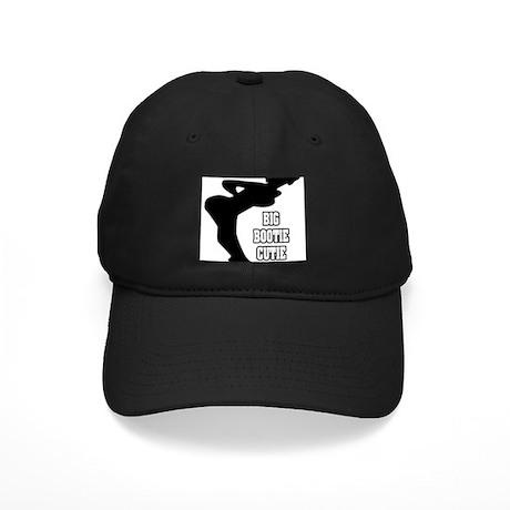 """Big Bootie Cutie"" Black Cap"