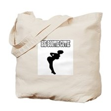 """Big Bootie Cutie"" Tote Bag"