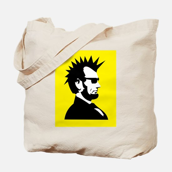 Abraham Lincoln Rocks! Tote Bag