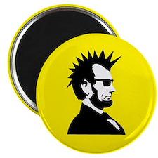 Abraham Lincoln Rocks! Magnet