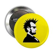 "Abraham Lincoln Rocks! 2.25"" Button"